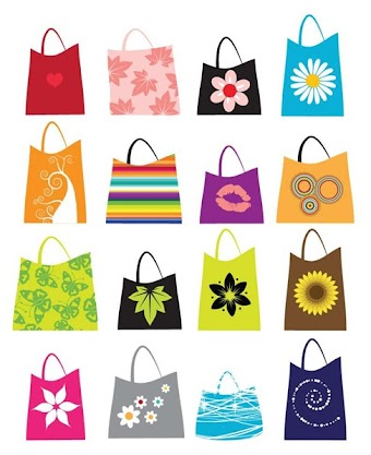 Free Vector Shopping Bags 16 vector by webdesignhot