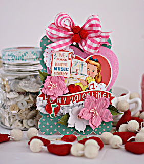 Valentine Wall Hanging by Cherry's Jubilee Cards