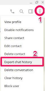 Cara Menyimpan History Chat di Telegram
