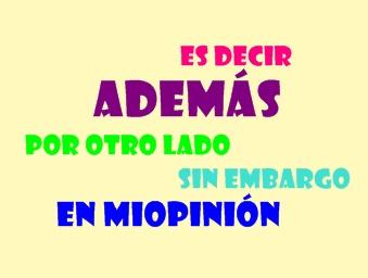 TIPOS DE CONECTORES LINGÜÍSTICO-ARGUMENTATIVOS