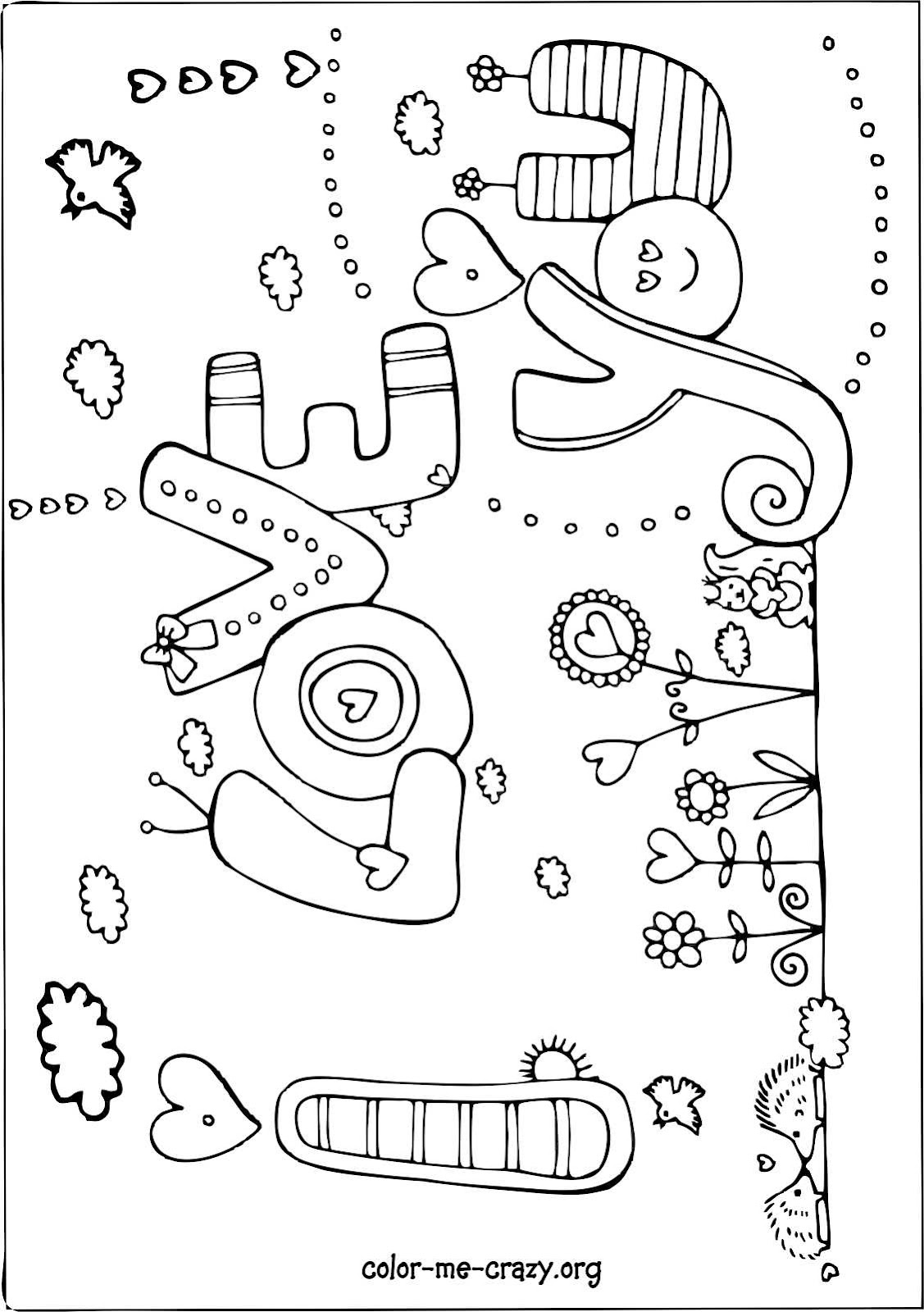 This is a photo of Insane Valentine Coloring Sheets Printable