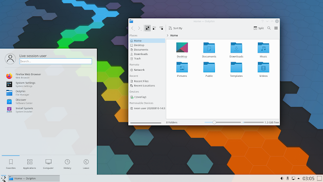 KDE Neon 20.04