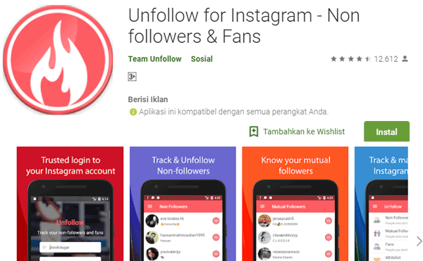 Unfollow for Instagram - Non Followers & Fans.