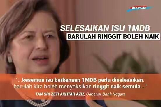 Image result for Gambar 1MDB jatuhkan maruah negara