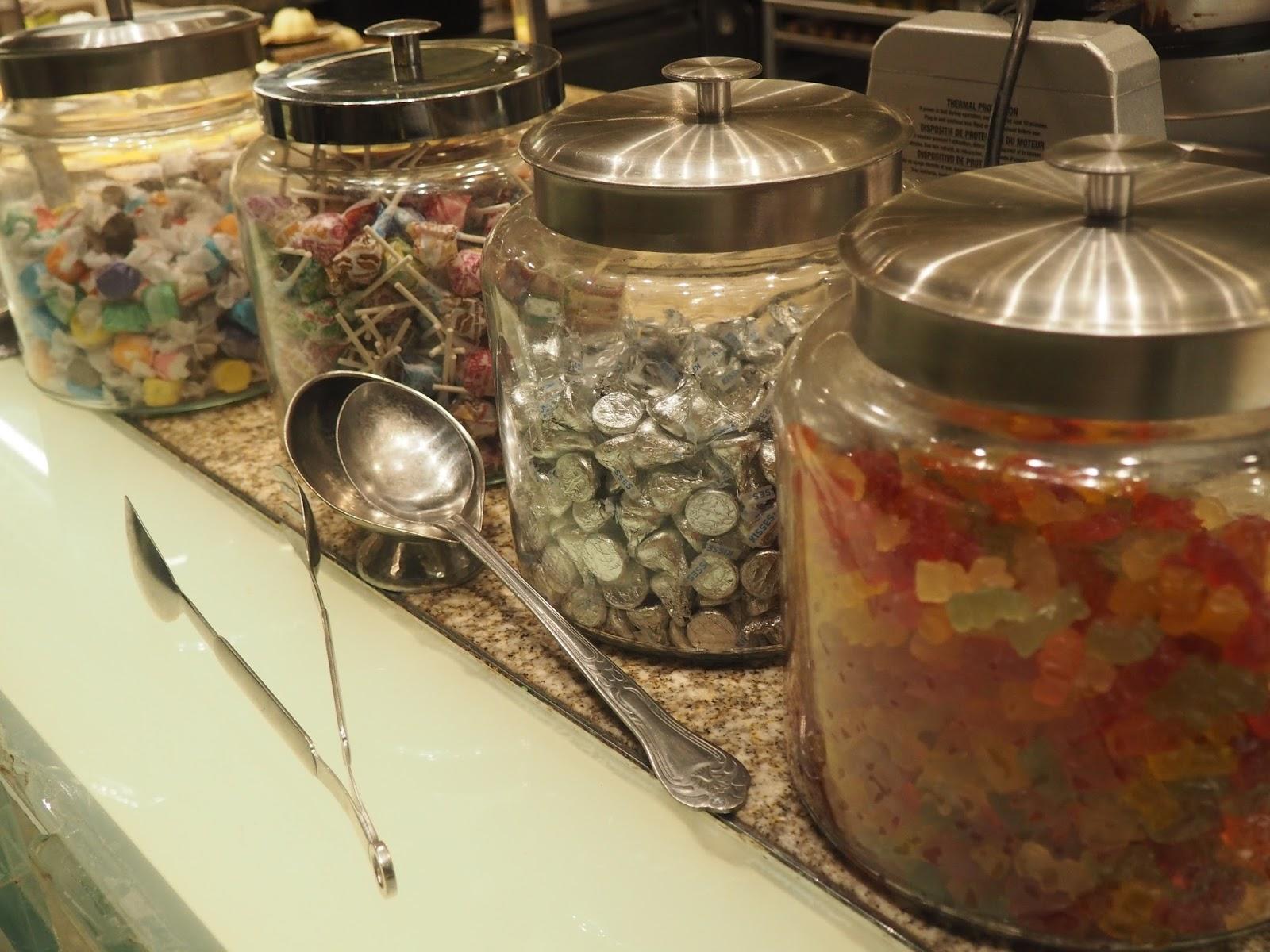 Sweeties at Baachanal Buffet at Caesar's Palace, Las Vegas