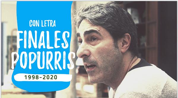 Últimas cuartetas de los Popurri de las Comparsas de Antonio Martínez Ares (1998-2020) con LETRAS