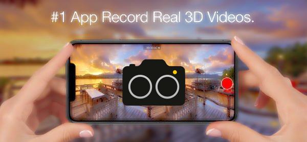 【限時免費 app】《3DPro Camera》用 iPhone 拍出 VR 影片