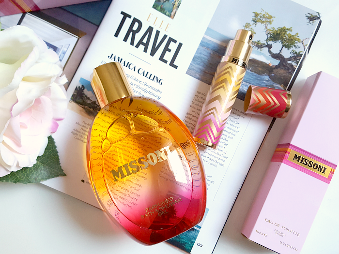 Review: MISSONI WOMEN - limitiertes Purse Spray & Bath/Shower Gel - summer fragrances 2017 / Sommer Parfums
