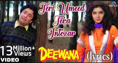 teri umeed tera intezaar lyrics