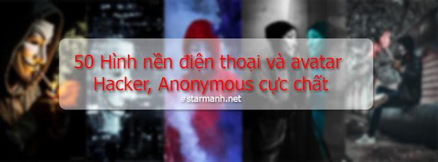 Hình nền điện thoại và avatar Hacker, Anonymous chất