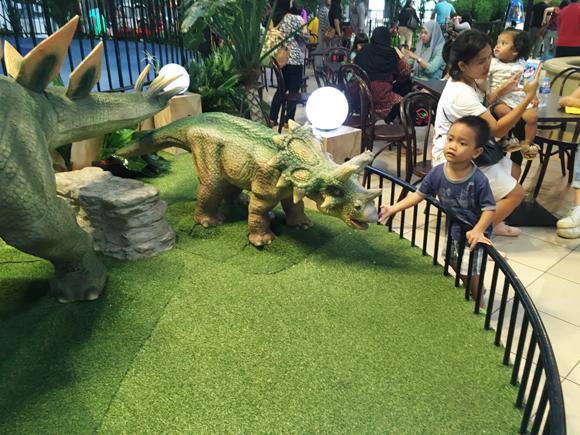 anak stegosaurus