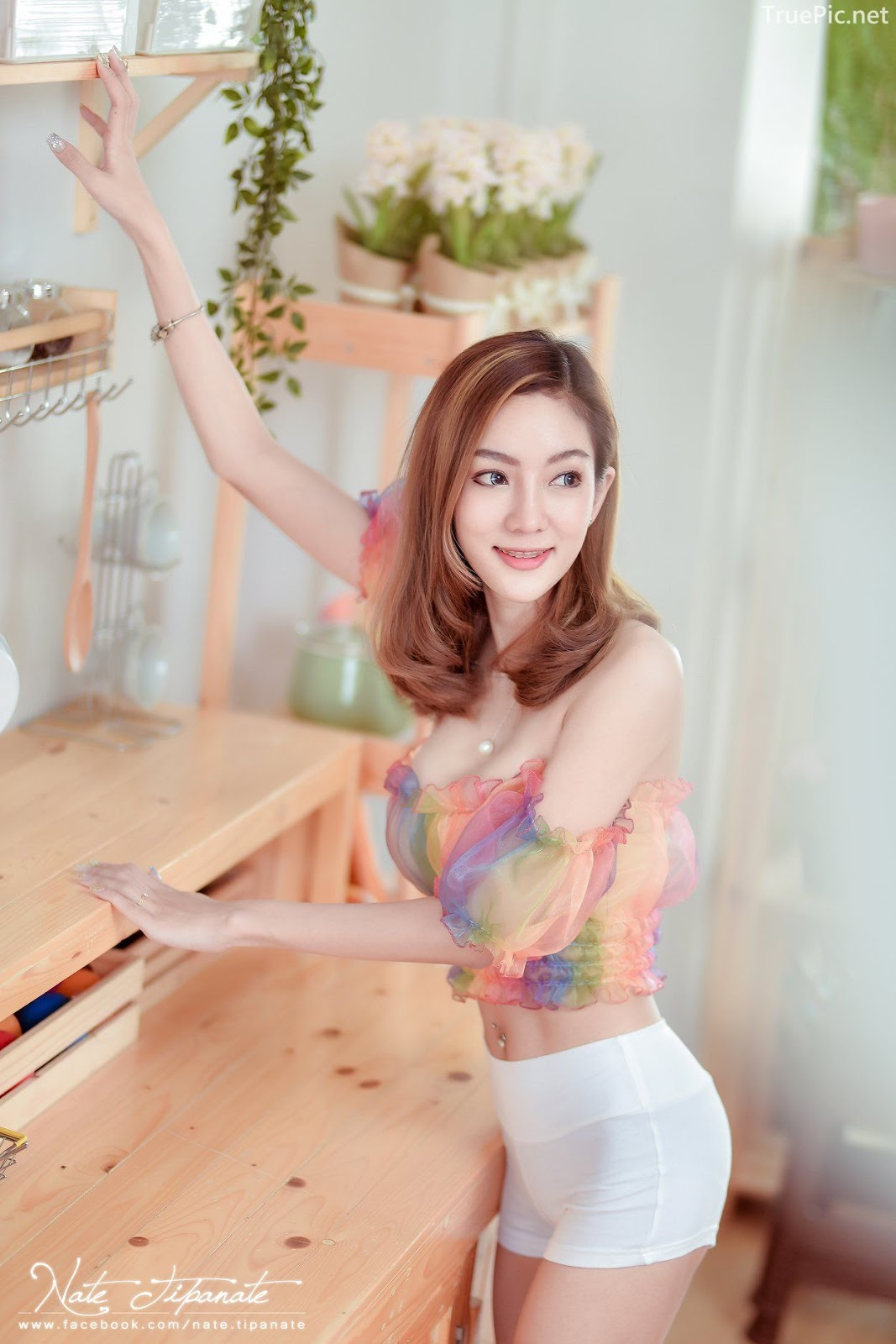 Thailand Model - Watcharaporn Wichithum - Seven Colors Rainbow - TruePic.net - Picture 9