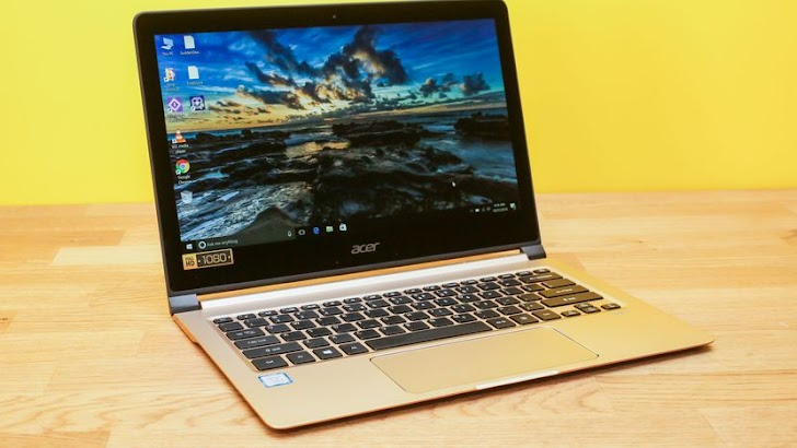 Acer Swift 7, Laptop Tertipis Di Dunia dengan RAM 8 GB