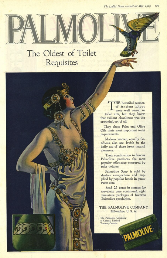 Palmolive Soap, ad May 1919