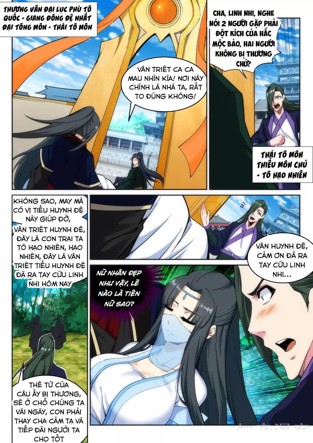 Nghịch Thiên Tà Thần Chapter 155 - Trang 9