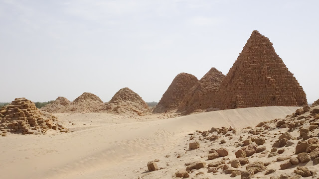 Some ugly pyramids of Sudan
