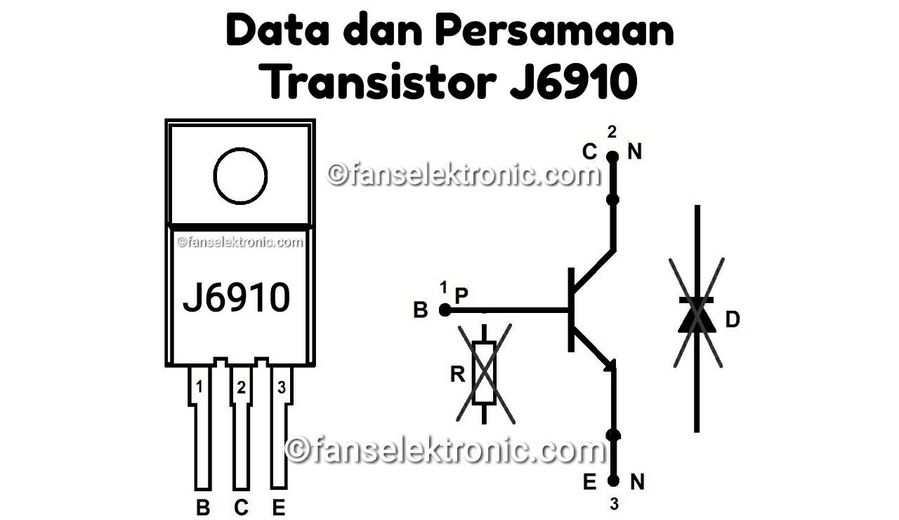 Persamaan Transistor J6910