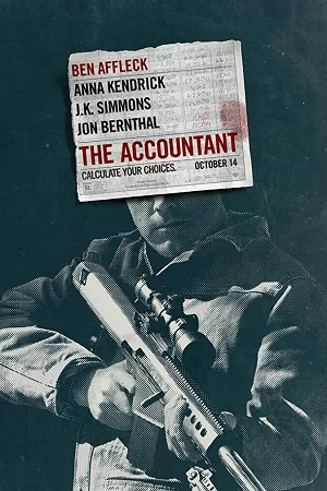 The Accountant (2016) English Movie Download 480p 720p BRRip