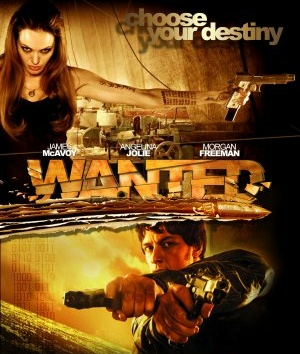 Wanted (2008) Dual Audio Hindi 400MB BluRay 480p x264 ESubs