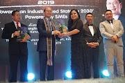 Usahawan Matunggong Terima Anugerah Outstanding SMEs Daripada Ministry Trade & Industry (MTI)