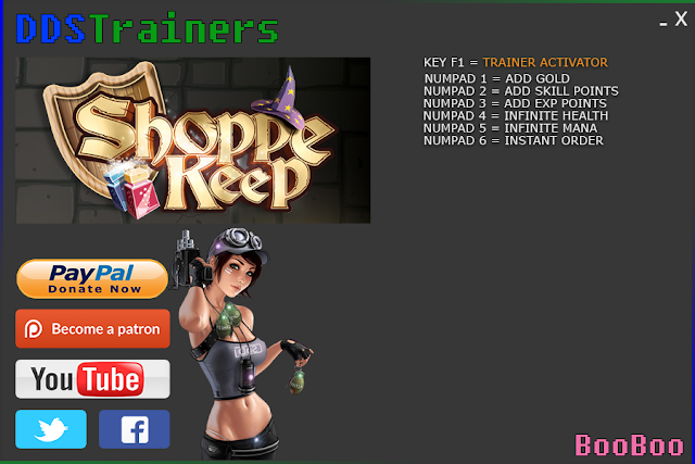 Shoppe Keep Trainers and Cheats for PC