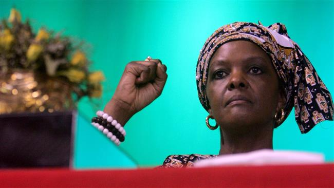 Zimbabwe first lady Grace Mugabe gets diplomatic immunity, returns to homeland