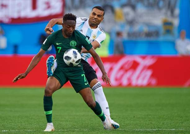 Super Eagles star saves people from hunger as he shares food items to people in Jos amid COVID-19