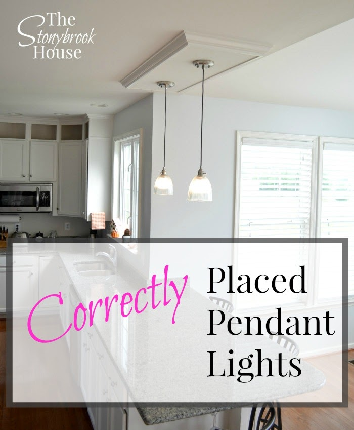 How To Fix Off Center Pendant Lights