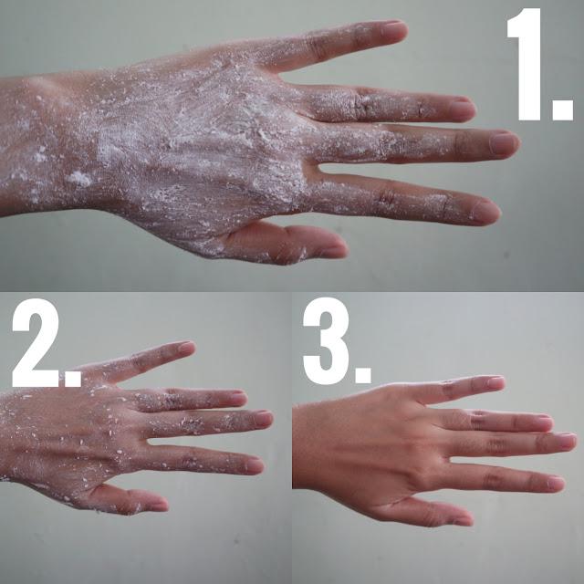 Cara Menggunakan Body Scrub Romansa