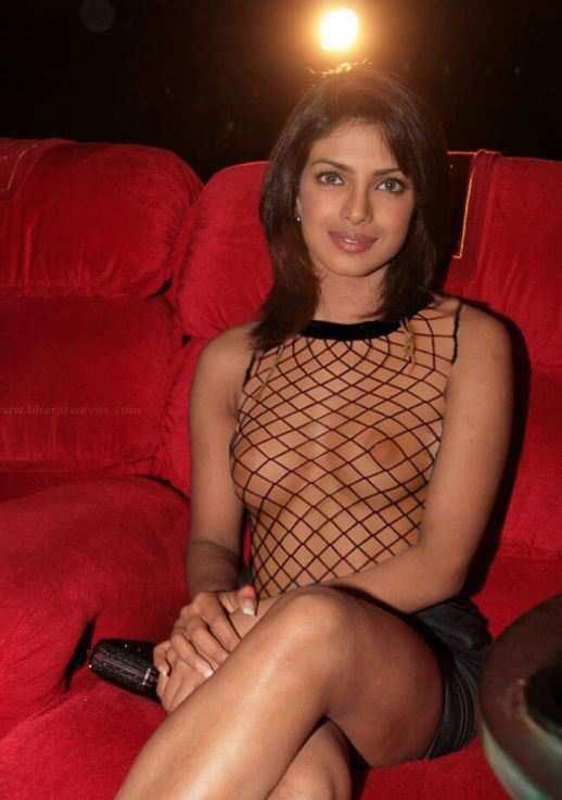 Priyanka Chopra Transparent Boobs