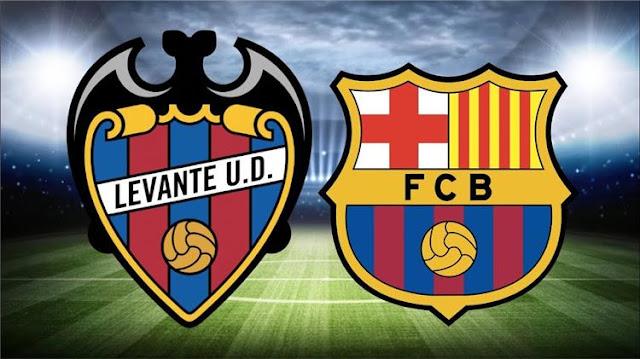 مشاهدة مباراة برشلونة وليفانتي بث مباشر