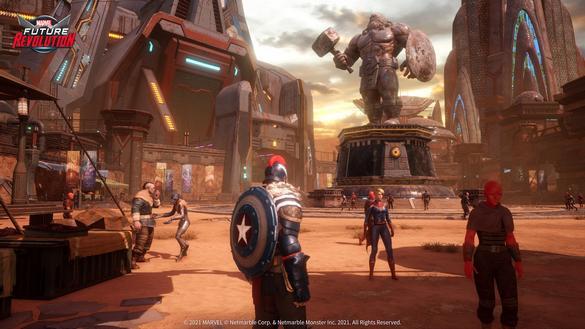 تحميل لعبة Marvel Future Revolution للاندرويد والايفون النسخة العالمية