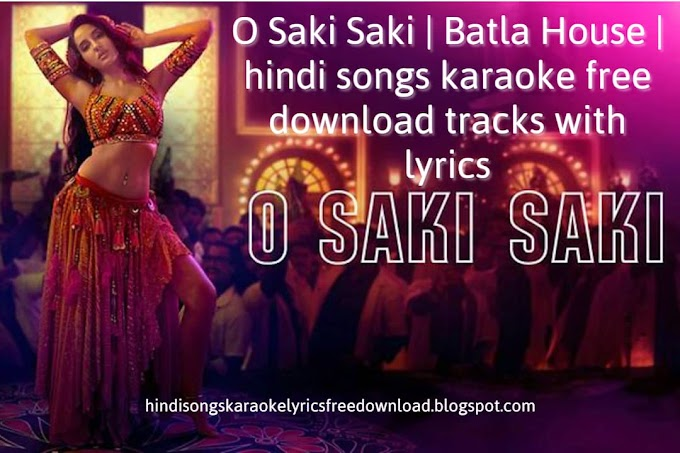 hindi songs karaoke Lyrics free download