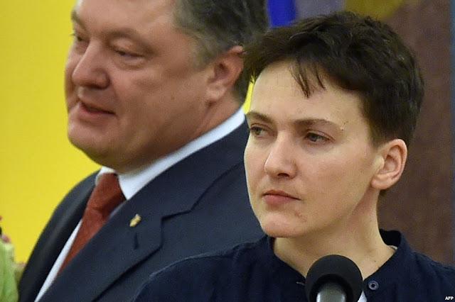 Савченко: Порошенко — гнилое, жадное чмо, которое возомнило себя богом. Его второй срок – это смерть для Украины