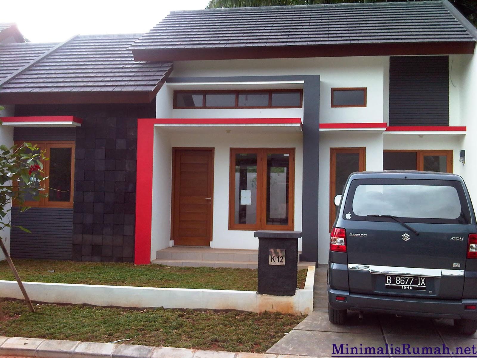 Gambar Desain Depan Rumah Minimalis Type 36 Terbaru Interior Eksterior