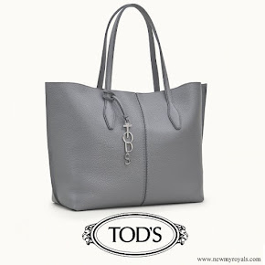 Crown Princess Mary carried Tod's Joy Bag