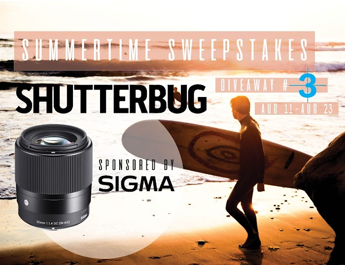 Enter To Win a Sigma Contemporary Lens + 4x $50 Amazon Gift Cards  ( Worth Over : +$539)