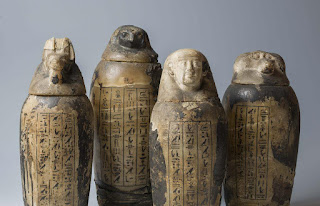 Four sons of Horus canopic jars