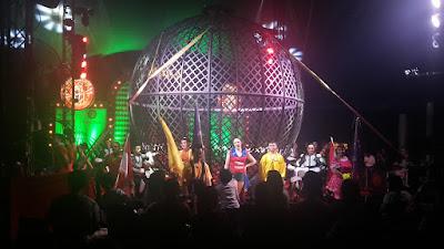 The Great British Circus dan seluruh pemain