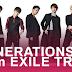 GENERATIONS from EXILE TRIBE lançará novo single em outubro!