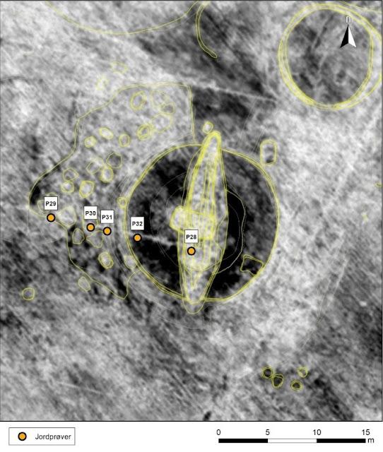 Norway's Gjellestad burial mound belonged to the Iron Age elite