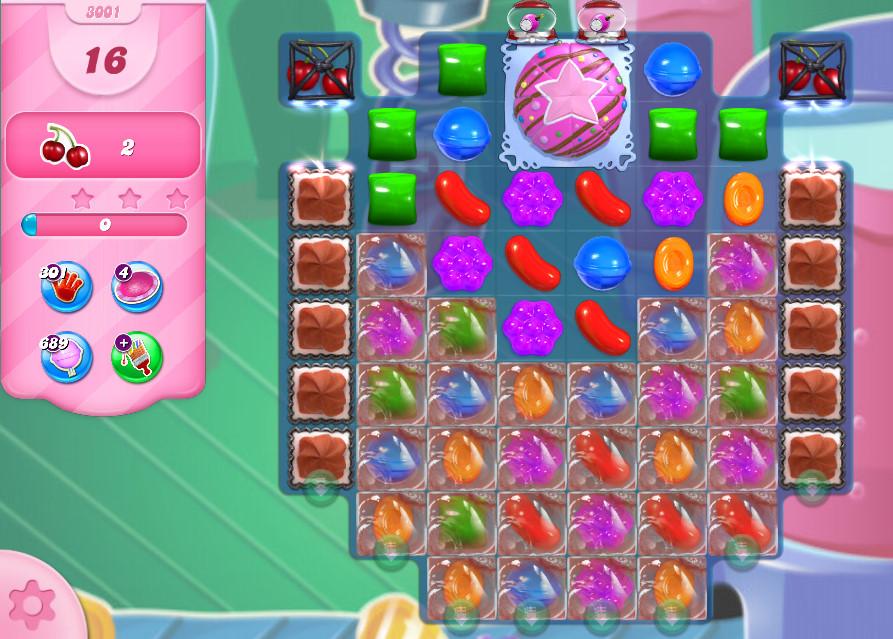 Candy Crush Saga level 3001