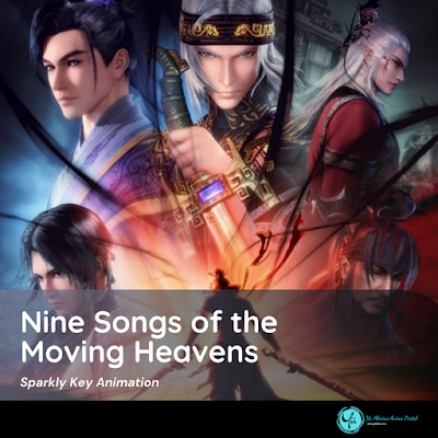 Legend of Tang Similar Anime Nine Songs of the Moving Heavens