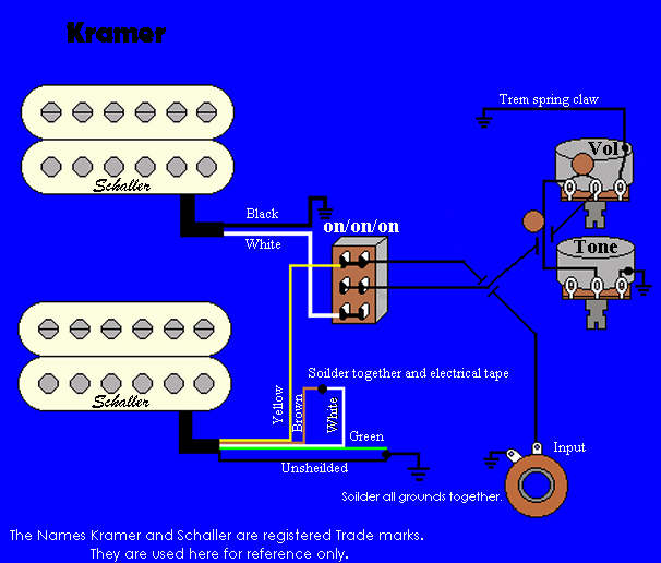 how to wiring electric guitar dean pickup wiring diagram #2