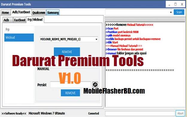 Download Darurat Premium V1.0 Unlock 2020 Tool Latest Update Free For All