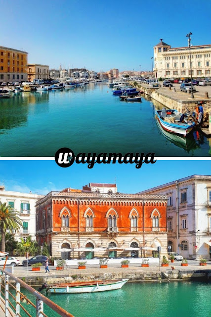 Marina and bridge to Ortigia island, Siracusa | Sicily, Italy | wayamaya