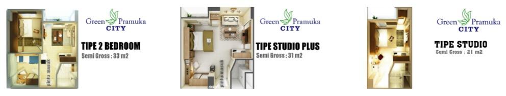 Apartemen Green Pramuka City, Investasi Hunian Paling Menguntungkan dan Menjanjikan di Jakarta!