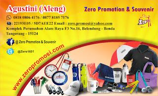 Barang Promosi dan Souvenir Promosi Perusahaan seperti payung promosi, jam promosi, kaos promosi, tas promosi, pulpen promosi, souvenir mug promosi, souvenir gelas promosi dan tali name tag