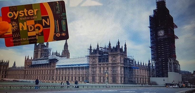 Diário de Bordo - 5 dias em Londres - Oyster Visitor Card