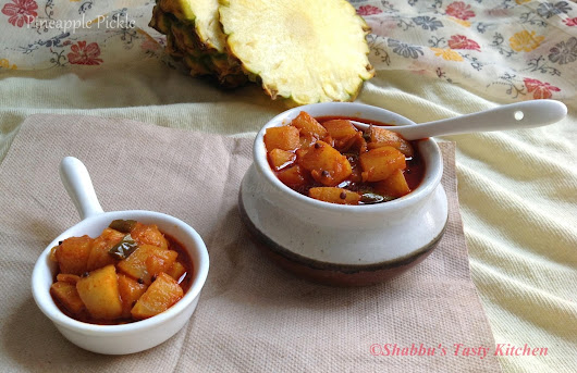 Pineapple Pickle / Pineapple Achar